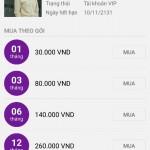 Share tài khoản Zing MP3 Vip mới nhất cho Android