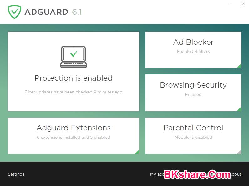 Download phần mềm chặn quảng cáo Adguard Premium 6.1 full crack